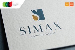 Simax - Logo Template