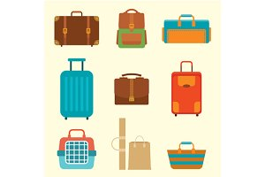 Different types of baggage