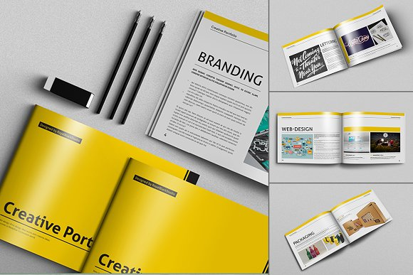 20 creative brochures mega bundle brochure templates creative market