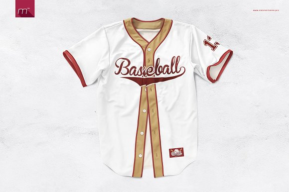 Baseball Jersey Mock-up ~ Product Mockups ~ Creative Market