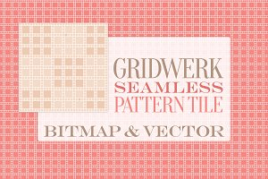 Gridwerk: Seamless Pattern Tile
