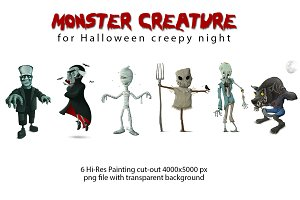 Monster creature - Cut-Out