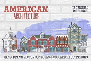American Architecture Hand-drawings