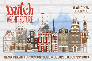 Dutch Architecture Hand-drawings