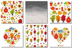 Autumn set of patterns #2