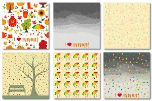 Autumn set of patterns #3