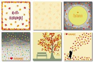 Autumn set of patterns #4