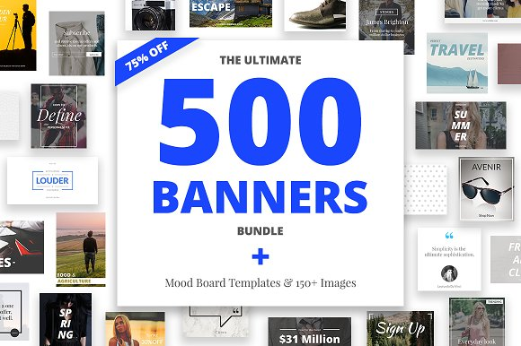 The Ultimate Banners Bundle
