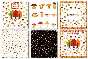Autumn set of patterns #5