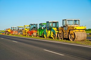 machinery for asphalt work