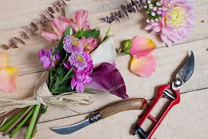 Florist worktable