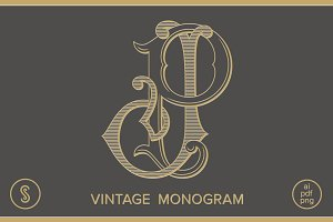 JP Monogram PJ Monogram