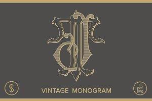 JT Monogram TJ Monogram