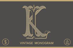 KL Monogram LK Monogram