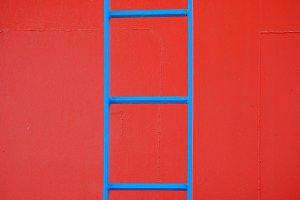 Metal Ladder Background