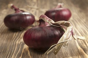 Red 'sweet' onions