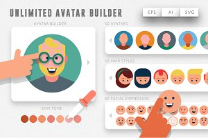 Unlimited Avatar Creator Kit