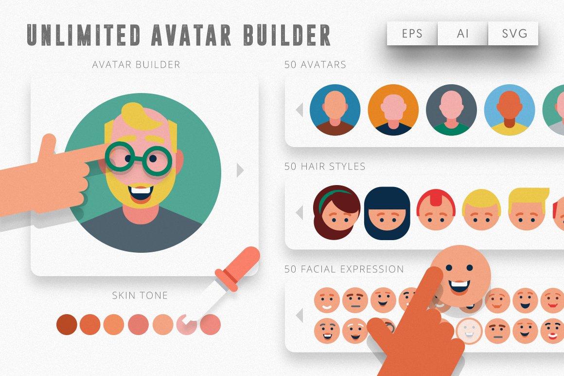 Avatar creator kit unlimited 4 png 1473710629 s - Cree ton avatar et decore ton apparte ...