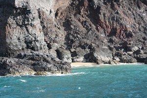 Cliffs by the Ocean