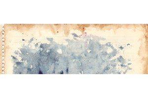 Watercolor vintage retro texture