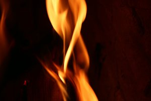 Flame Close-up 4