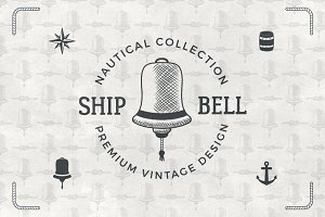 Vintage Nautical Logos & Badges