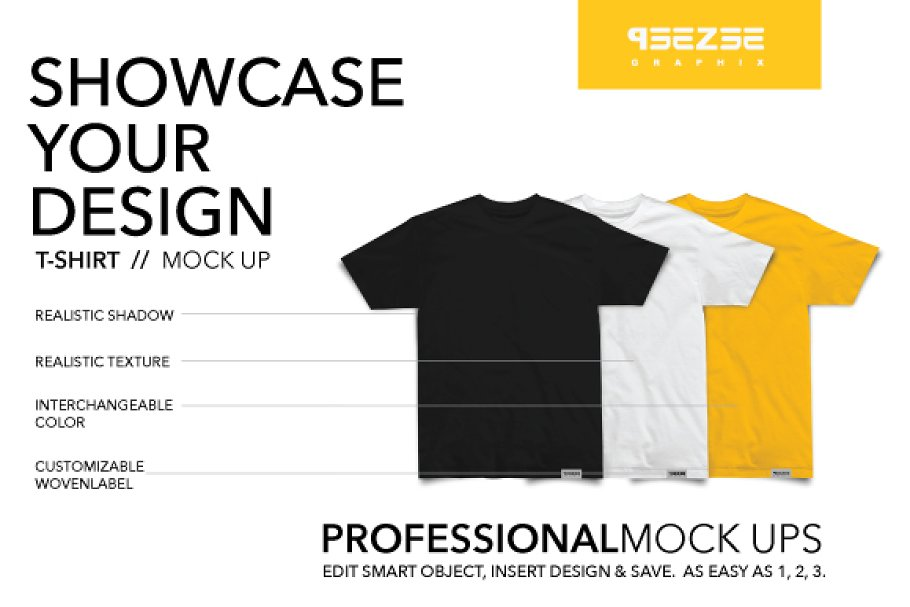 5c73301b T-shirt mock up ~ Product Mockups ~ Creative Market