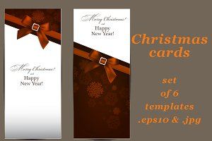 Christmas cards - set of templates