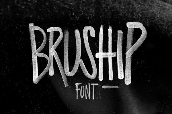 BRUSHIP Font & Typeface