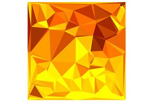 Gold Yellow Banana Abstract