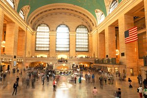 Grand Central Station in NY City