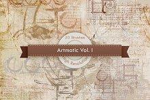 Artmatic Vol. 01 Photoshop Brushes