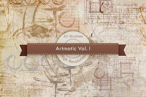 Artmatic Vol. 01 Photoshop Brushes