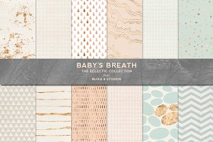 Baby's Breath Rose Gold Patterns
