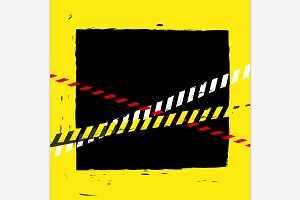 Danger Tape Background