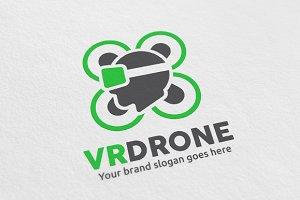 Virtual Reality Drone Logo