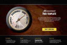 Measurement Landing Page Template