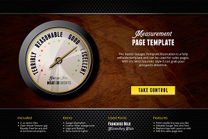 Measurement Landing Page Template