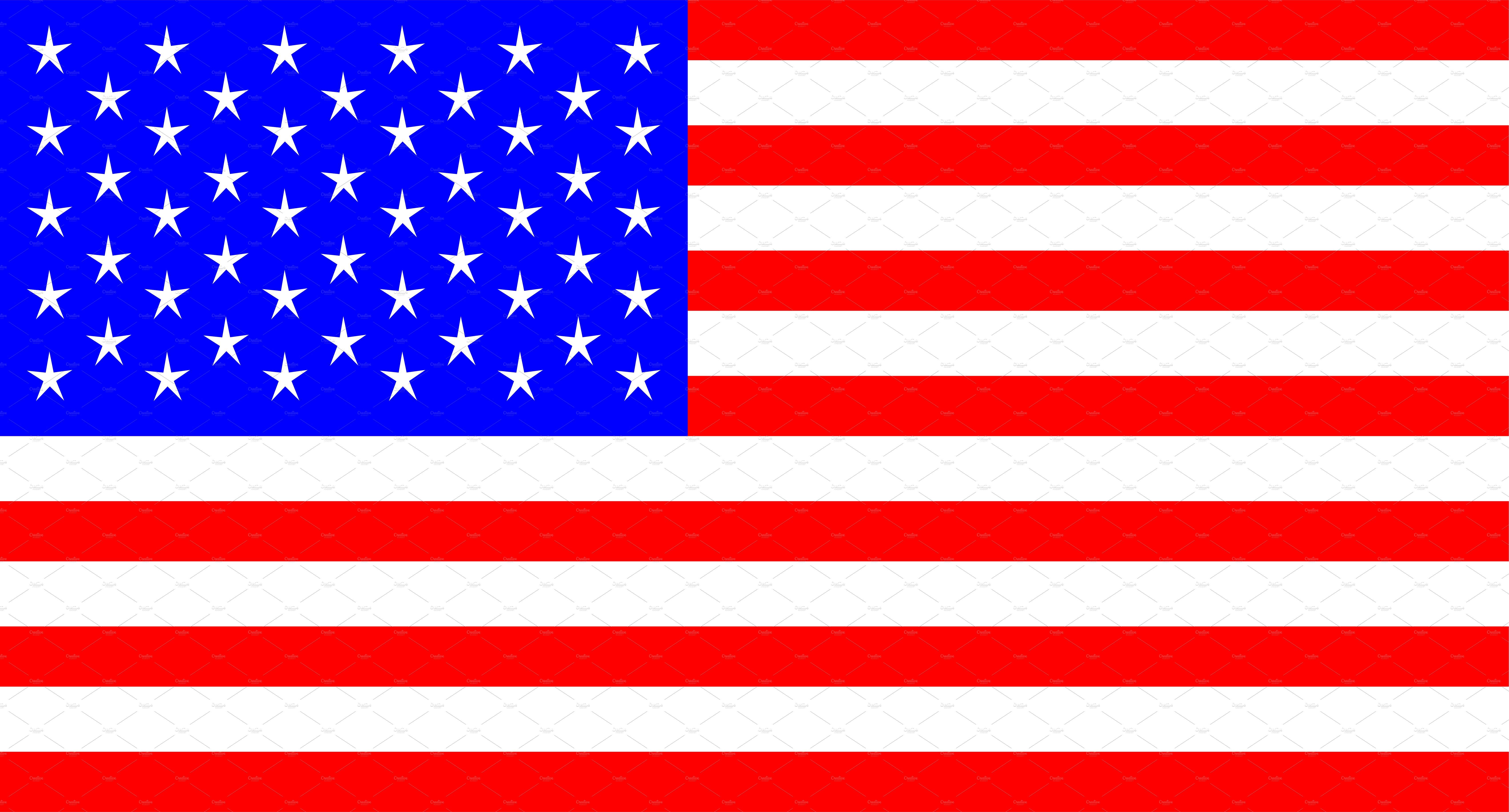 USA flag vector, American flag ~ Icons ~ Creative Market