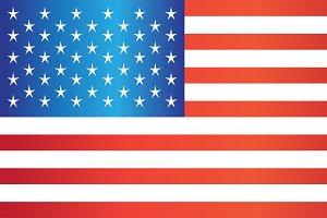 USA flag vector, American flag 2