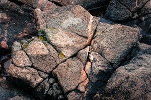 Cracked Rocks I