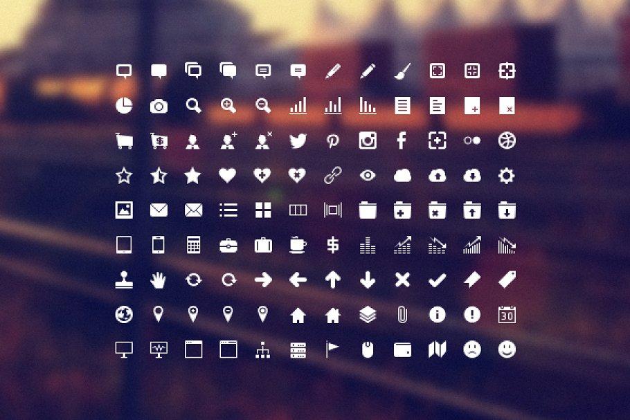 Developer Icon Set ~ Icons ~ Creative Market