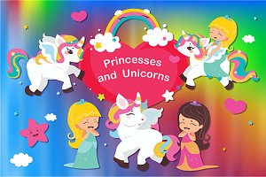 Princesses and unicorns