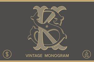 KS Monogram SK Monogram