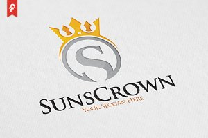 Sun Crown Logo