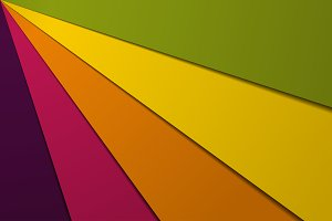 abstract background five colors