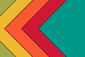 arrows multicolor background
