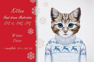 Kitten / Wintertime