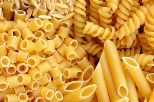 Italian Pasta Food Background