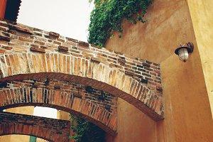 Italian old village